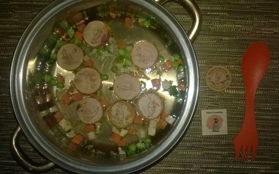 Dílna u mnicha-klokaní polévka