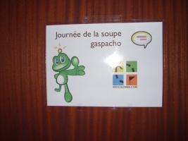 Den polévky gazpacho - Clermont Ferrand