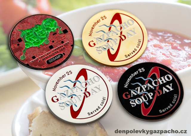Geocoin ke Dni polévky gazpacho