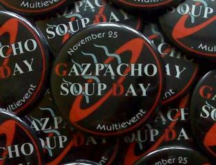 Placky k polévce gazpacho