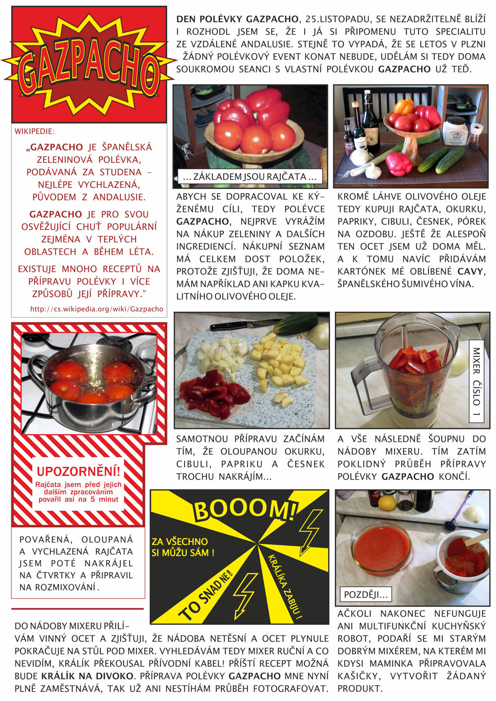 Gazpacho článek od Torfika